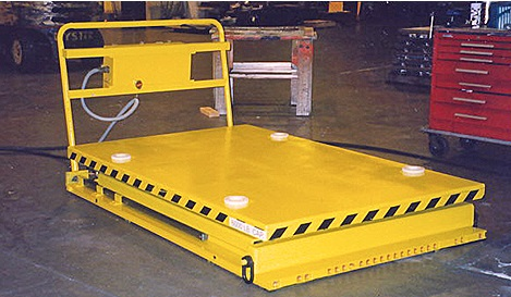 Scissor Lift Tables - Vertical Lift Load Moving | AeroGo | AeroGo, Inc