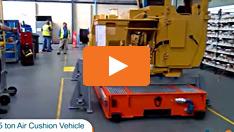 45 Tonnen Luftkissenfahrzeug