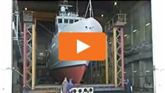 Moving a 200 ton ship
