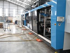 Ireland Holfeld Plastics Thermoforming machine rigging